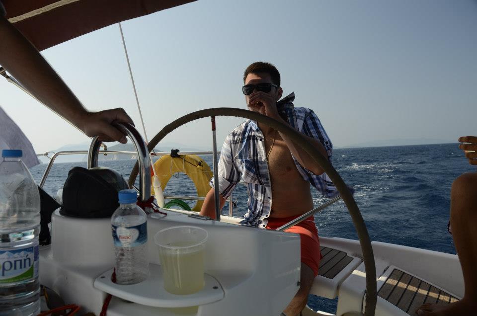 Ja o jedrenju