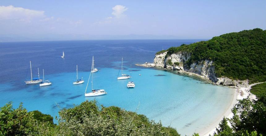 Paxos, Antpaxos jedrenje