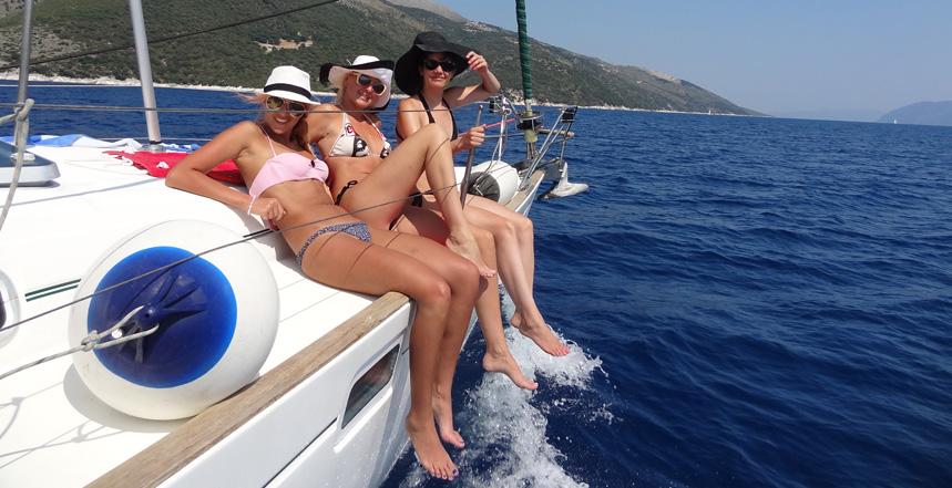 Grcka jedrenje zenska posada