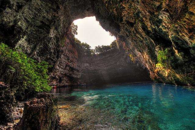 Nezaboravno iskustvo sa jedrenja: Melisani pećina nimfi, Kefalonija