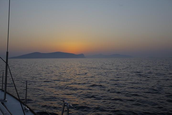 Zalazak sunca - Grčka ostrva